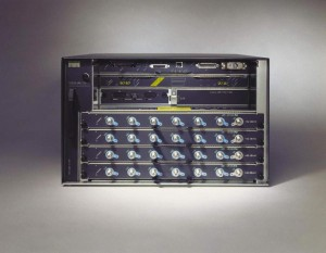 Cisco uBR7246VXR Universal Broadband Router - CMTS