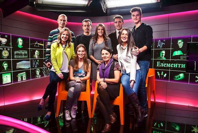 Srpska naučna televizija - deo tima