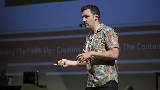 Digital Day 2016, Brendan Gahan govori o digitalnim influenserima. (Foto: Stefan Đaković)