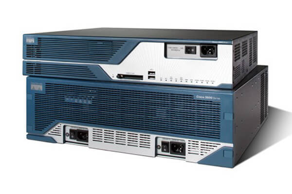 Cisco 3800 routers