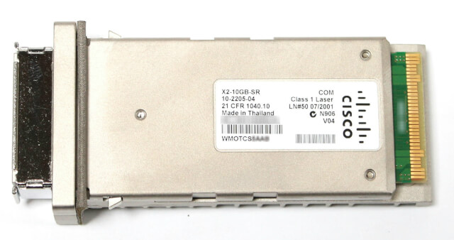 Cisco 10GBASE X2 Modules – X2-10GB-SR