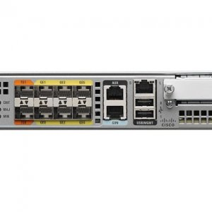 Cisco ASR1001-X, Cisco ASR1001-X Chassis, 6 built-in GE, Dual P/S, 8GB DRAM
