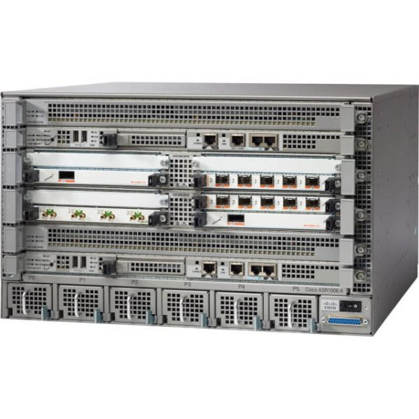 Cisco ASR1006, Cisco ASR1006 Chassis, Dual P/S