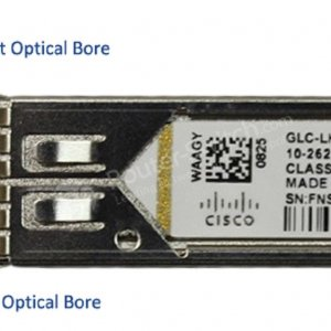 Cisco GLC-LH-SMD, 1000BASE-LX/LH SFP transceiver moduleMMF/SMF, 1310nm, DOM