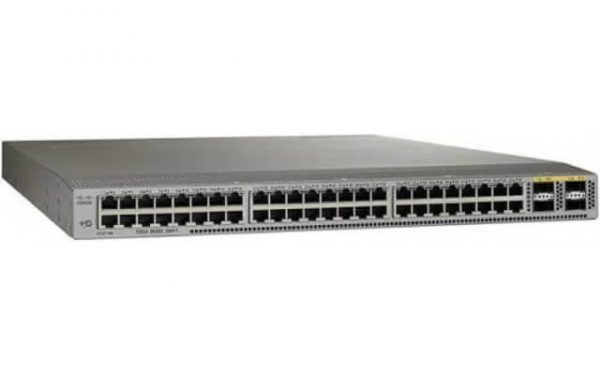 Cisco N3K-C3064PQ-10GX, Nexus 3064-X, 48 SFP+, 4 QSFP+ ports, with enh scale, low- l (Both airflows, dual AC, 1x FAN)