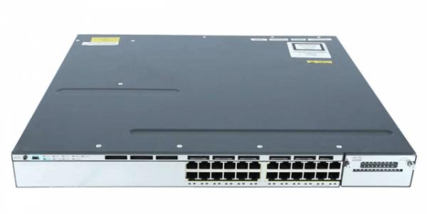 Cisco WS-C3750X-24S-S, Catalyst 3750X 24 Port GE SFP IP Base