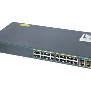 Cisco WS-C2960-24TC-L, Catalyst 2960 Plus 24 10/100 + 2T/SFP LAN Base