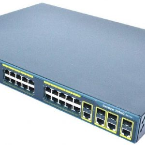 Cisco WS-C2960G-24TC-L, Cat2960 24 10/100/1000.4 T/SFP LAN Base Image