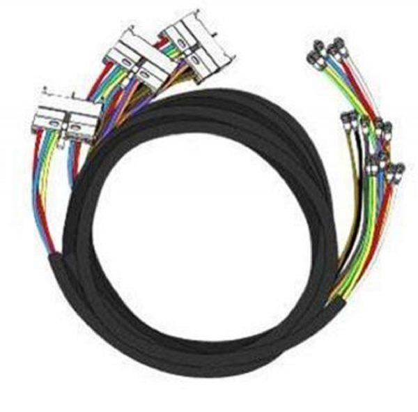 Cisco CAB-RFSW520QTIMF2, Quad-shield RF cable bundle, RF line card to HFC plant, 3m