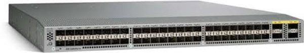 Cisco N3K-C3064PQ-10GE, Nexus 3064-E, 48 SFP+, 4 QSFP+ ports, with enh scale