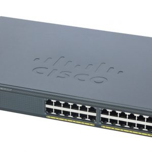 Cisco WS-2960X-24TS-L, Catalyst 2960-X 24 GigE, 4 x 1G SFP, LAN Base