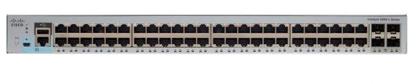 Cisco WS-C2960L-48TQ-LL, Catalyst 2960L 48 port GigE, 4x10G SFP+, Lan Lite