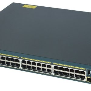 Cisco WS-C2960S-48LPS-L, Catalyst 2960-X 48 GigE PoE 370W, 4 x 1G SFP, LAN Base