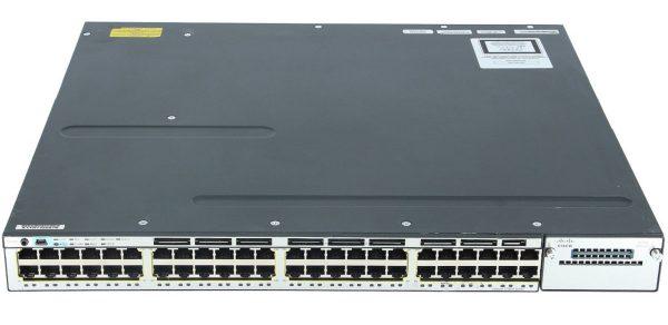Cisco WS-C3750X-48P-L, Catalyst 3750X 48 Port PoE LAN Base