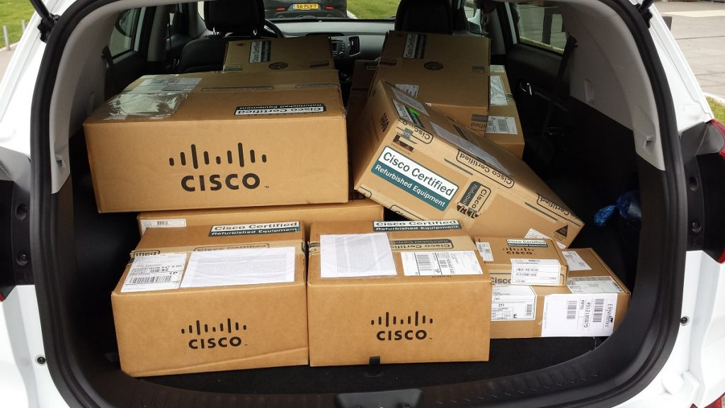 We sell and deliver Cisco refresh switches, Cisco refresh routers - check our Cisco refurbished outlet.
