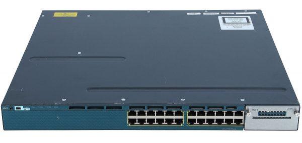 Cisco WS-C3560X-24P-L, Catalyst 3560X 24 Port PoE LAN Base