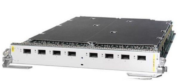 Cisco A9K-8T-L, 8-Port 10GE Low Queue Line Card, Requires XFPs