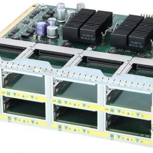 Cisco WS-X4908-10GE, 8 port 2:1 10GbE (X2) line card for 4900M series