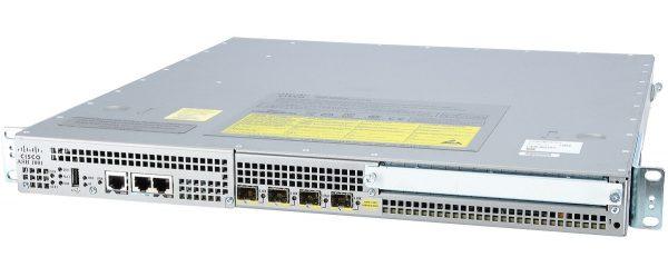 Cisco ASR1001, Cisco ASR1001 System,Crypto, 4 built-in GE, Dual P/S