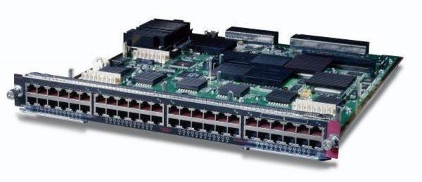 Cisco WS-X6548-GE-TX, Cat6500 48pt fabricEnabled 10/100/1000 Module