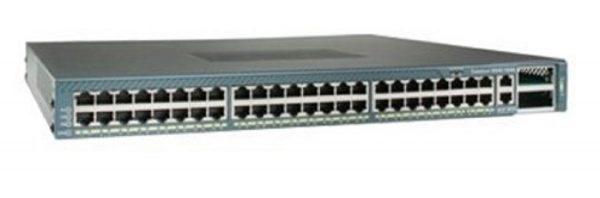 Cisco WS-C4948-10GE-E, Cat4948.ES Image48 10/100/1000+2 10GE(X2)ACPS