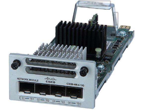 Cisco C3850-NM-4-10G, Cisco Catalyst 3850 4 x 10GE Network Module