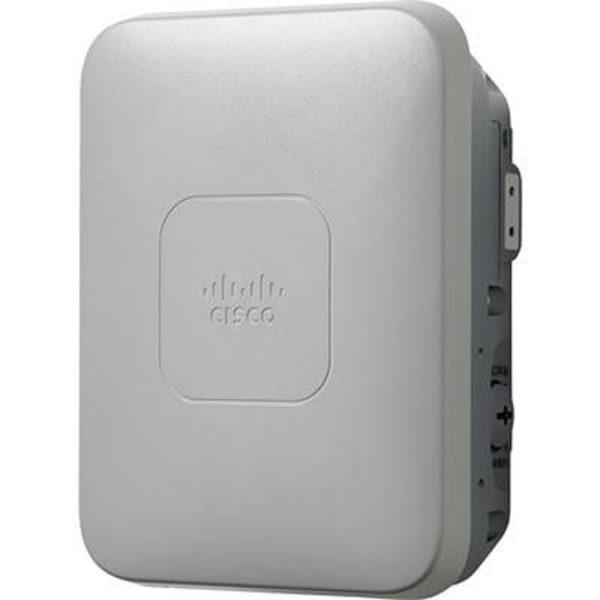 Cisco AIR-AP1532I-UXK9, 802.11n Low-Profile Outdoor AP, Internal Ant., Universal.