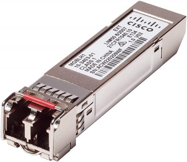 Cisco MGBLH1, Gigabit Ethernet LH Mini-GBIC SFP Transceiver