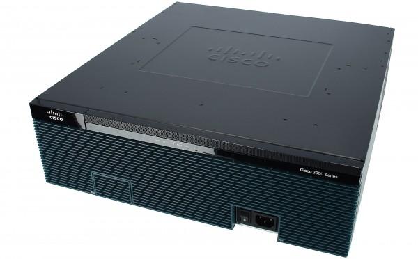 Cisco C3925-VSEC/K9, Cisco 3925 UC Sec. Bundle, PVDM3-64, UC and SEC License P