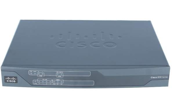 Cisco C886VAJ-K9, Cisco 880 Series Integrated Services Routers.