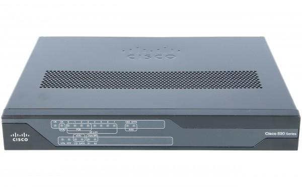 Cisco C897VAG-LTE-GA-K9, GE SFP VDSL2/ADSL2+ over POTS (non-US) 4G LTE / HSPA+