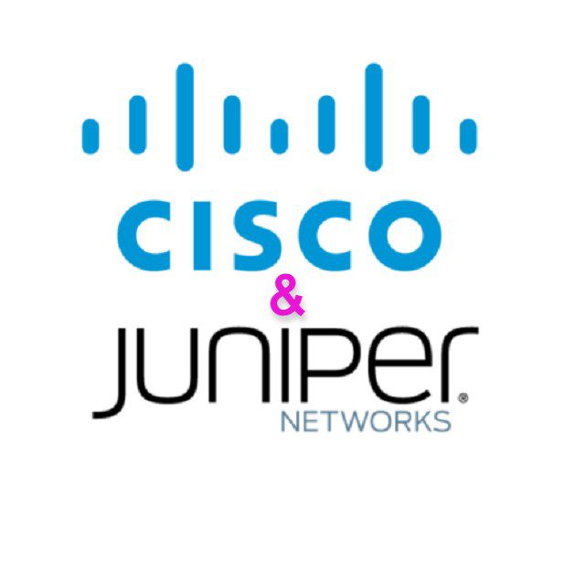 Cisco and Juniper