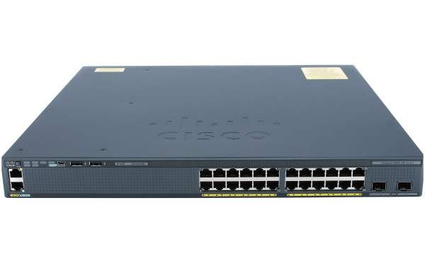 Cisco WS-C2960XR-24TD-I, Catalyst 2960-XR 24 GigE, 2 x 10G SFP+, IP Lite