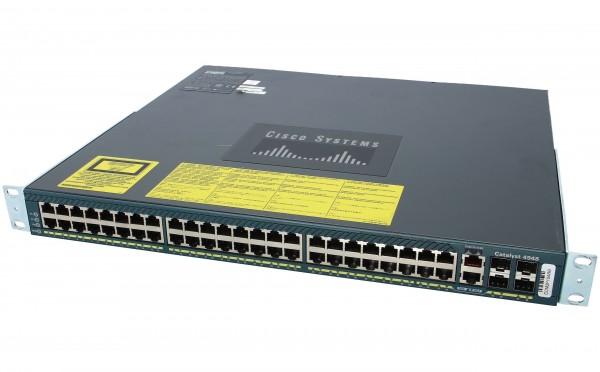Cisco WS-C4948E-E, Catalyst 4948E. ES. 48-Port 10/100/1000+ 4 SFP+. AC p/s.