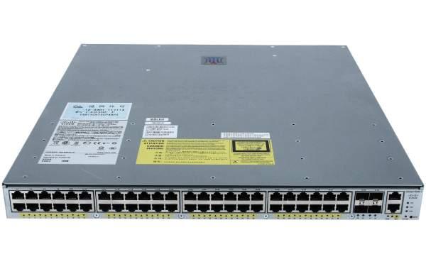 Cisco WS-C4948E-F-E, Cat 4948E-F. ES. 48x 10/100/1000+ 4 SFP+. AC PS. Fr Ext