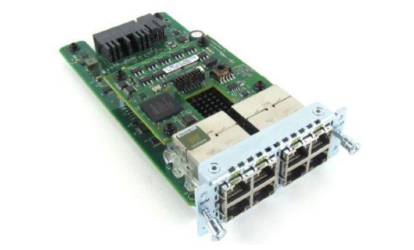 Cisco NIM-ES2-8-P, 8-port POE/POE+ Layer 2 GE Switch Network Interface Module