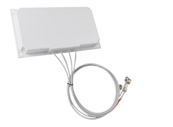 Cisco AIR-ANT2566P4W-R, 2.4 GHz 6 dBi/5 GHz 6 dBi Directional Ant., 4-port, RP- TNC